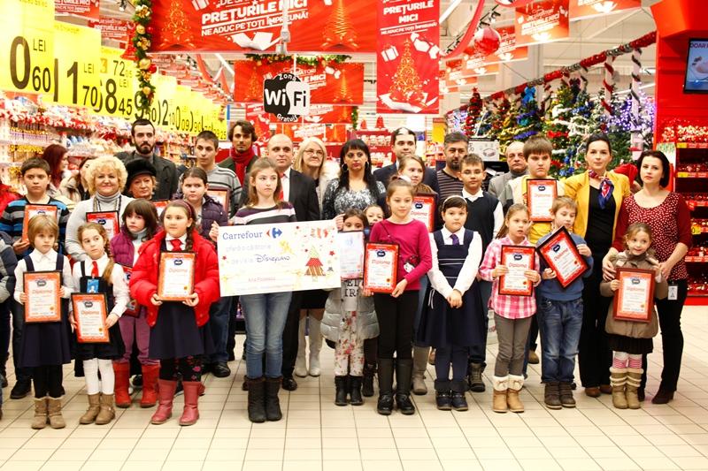 Carrefour Felicia Iasi a premiat copiii talentati