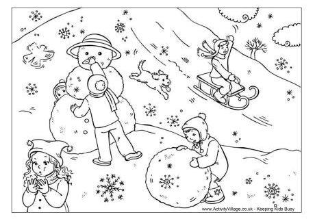 Jocuri pe zăpadă